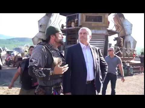 Сегодня нашу площадку у горы Гасфорта в городе Севастополе посетил глава Крыма