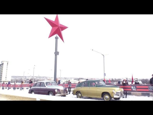 Ночные Волки Луганска восстановили Звезду Победы, взорванную террористами
